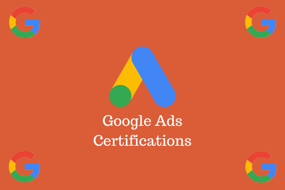 google ads sertifikası